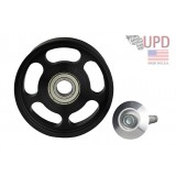 2012-2015 105mm  ZL1 Camaro Large Supercharger Idler Pulley